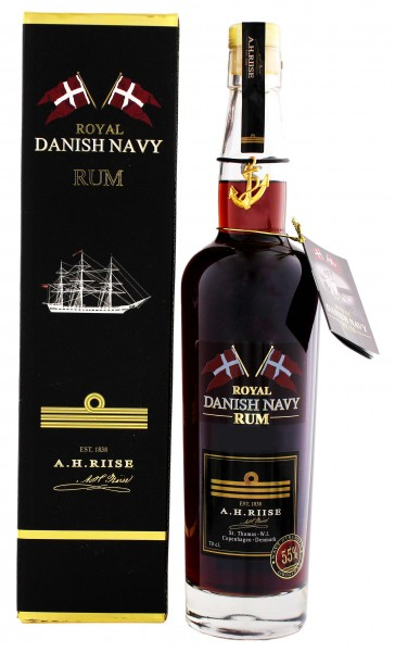 A.H. Riise Royal Danish Rum Navy Strength 0,7 Liter