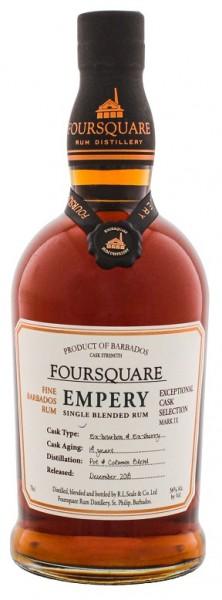 Foursquare Empery 14YO Rum 0,7 Liter 56%