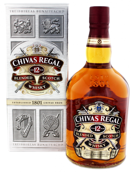 Chivas Regal 12YO Scotch Whisky 1 Liter 40%