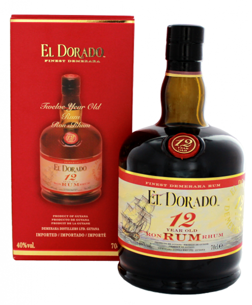 El Dorado 12YO 0,7 Liter
