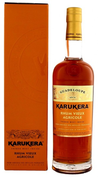 Karukera Vieux Agricole Rhum 0,7 Liter 42%