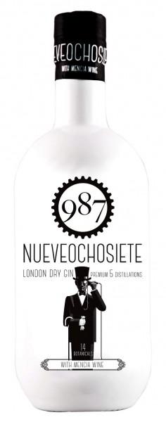 987 Nueveochosiete London Dry Gin 0,7 Liter 40%