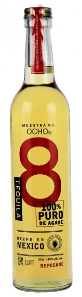 Ocho Reposado 100% Agave 0,5 Liter 40%