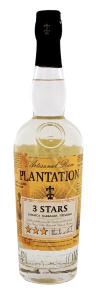 Plantation 3 Stars White Rum 0,7 Liter