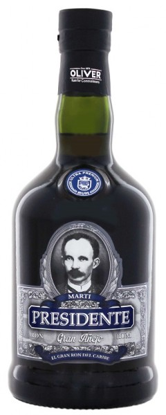 Presidente Gran Anejo Rum 0,7 Liter 40%
