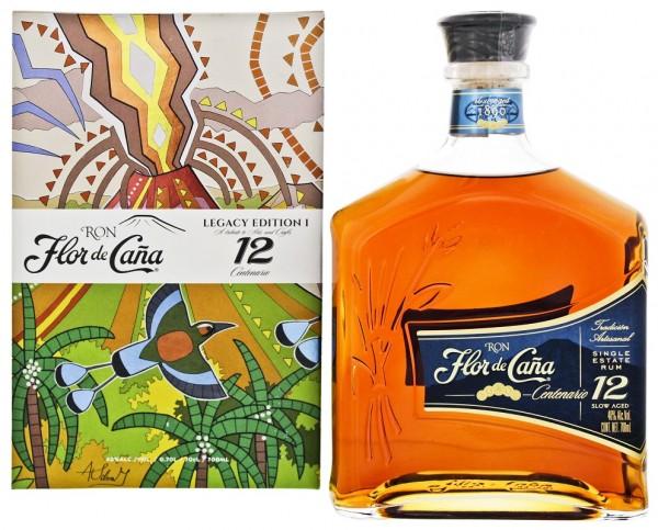 Flor de Caña 12YO Centenario Rum 0,7 Liter 40%