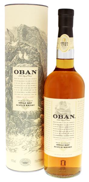 Oban 14YO Malt Whisky 0,7 Liter 43%