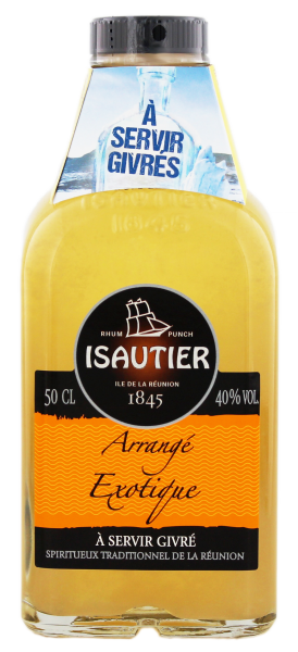 Isautier Arrangé Exotic 0,5 Liter 40%