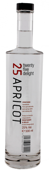 Twenty Five Delight Apricot 0,5 Liter