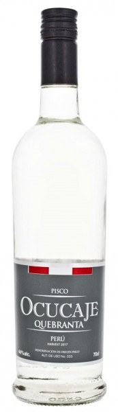 Ocucaje Quebranta Pisco 0,7 Liter 44%