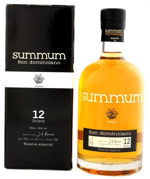 Summum 12YO Reserva Especial Ron 0,7 Liter 38%