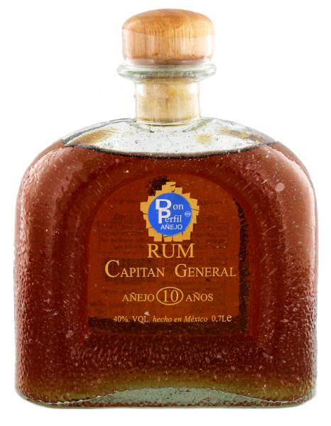 Capitan 10YO Rum General Anejo  0,7 Liter