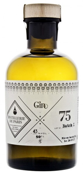 Distillerie de Paris Batch 1 Gin 0,5 Liter 43%