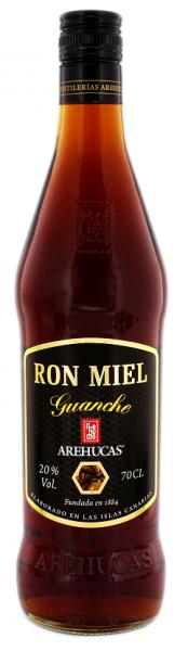 Arehucas Guanche Honey Likör 0,7 Liter 20%