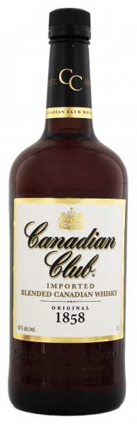 Canadian Club Barrel Blended - 1L