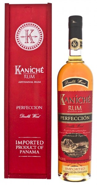 Kaniche Perfeccion Double Wood Rum 0,7 Liter 40%