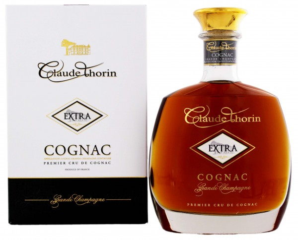 Claude Thorin Cognac Grande Champagne Extra 0,7 Liter 40%