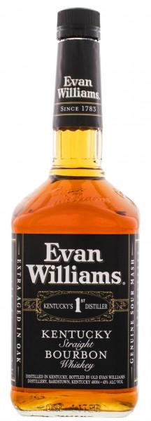 Evan Williams Straight Bourbon Whiskey 1 Liter 43%