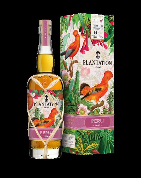 Plantation Peru 2006 One Time Rum 0,7 Liter 47,9%
