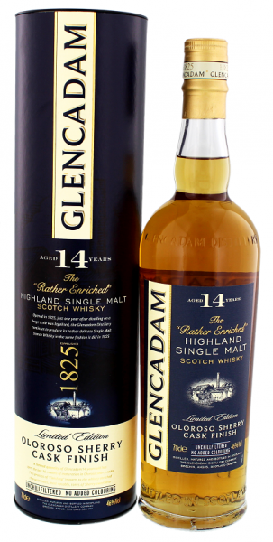 Glencadam 14YO Sherry Cask Finish 0,7 Liter