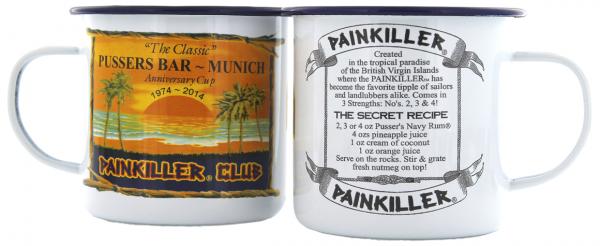 Pusser's British Navy Rum Cup 1 Stück