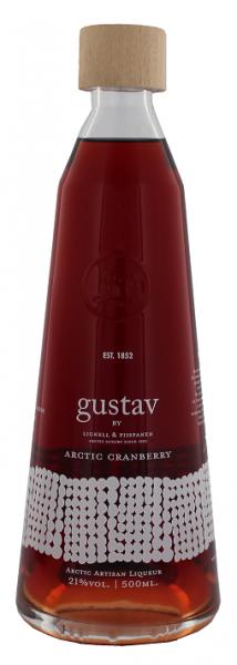 Gustav Arctic Cranberry Liqueur 0,5 Liter 21%