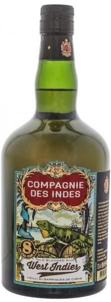 Compagnie des Indes 8 YO West Indies Rum 0,7 Liter 40%