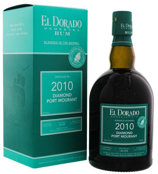El Dorado Blended in the Barrel 2010/2019 Port Mourant Diamond Rum 0,7 Liter 49,1%