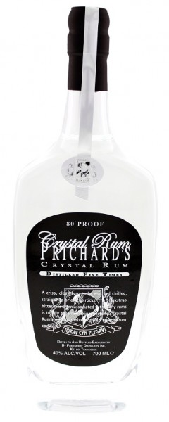 Prichard's Crystal Rum 0,7 Liter 40%