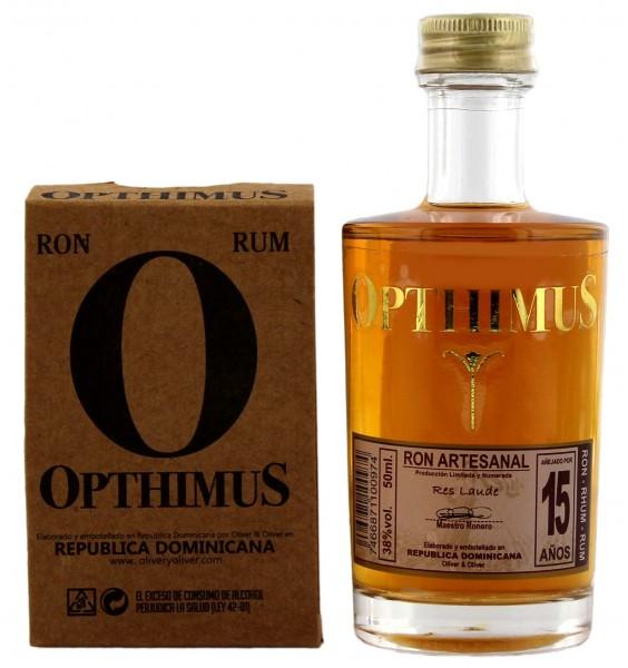Opthimus 15YO Rum 0,05 Liter 38%