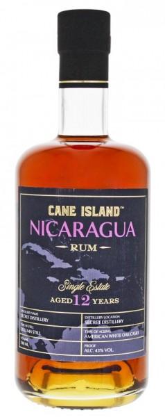 Cane Island Nicaragua 12YO Single Estate Rum 0,7 Liter 43%