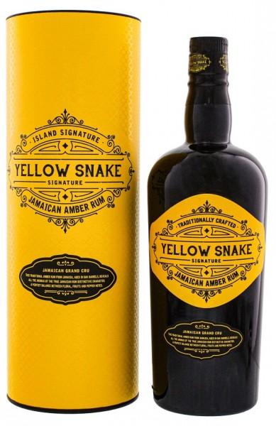 Yellow Snake Signature Jamaican Amber Rum 0,7 Liter 40%