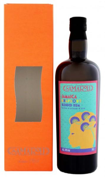 Samaroli Jamaica Rhapsody Blended Rum 2016 0,7 Liter 45%