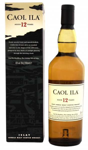 Caol Ila 12YO Single Malt Scotch Whisky 0,2 Liter 43%