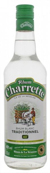 Charrette Traditionnel Blanc Rum 0,7 Liter 40%
