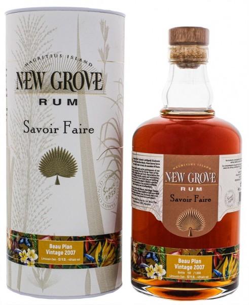 New Grove 2007 Savoire Faire Beau Plan Vintage Rum 0,7 Liter 45%