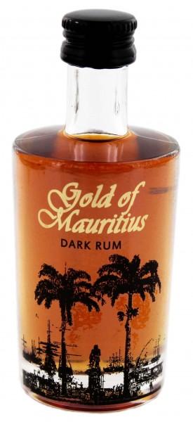 Gold of Mauritius Dark Rum 0,05 Liter 40%