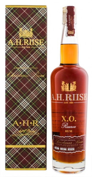 A.H. Riise XO Christmas Edition PX Finish Rum 0,7 Liter 40%