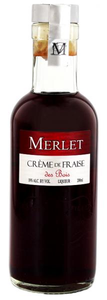 Merlet Creme de Fraise des Bois 0,2 Liter 18%