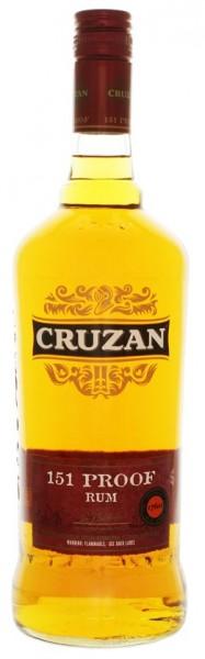 Cruzan 151 Overproof Rum 1 Liter 75,5%
