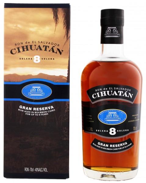 Ron de El Salvador 8YO Cihuatan Solera Gran Reserva 0,7 Liter 40%