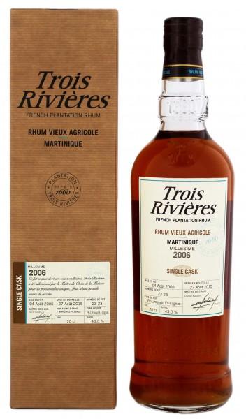Trois Rivieres 2006/2015 Agricole Rhum 0,7 Liter 43%