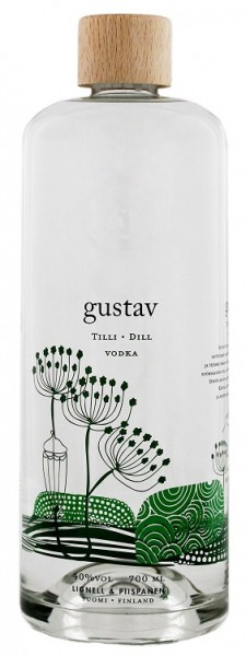 Gustav Dill Vodka 0,7 Liter 40%