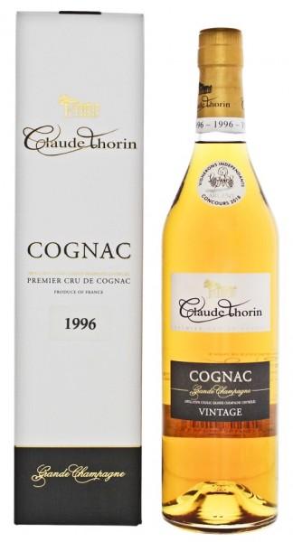 Claude Thorin Cognac Grande Champagne Millésimé 1996 0,7 Liter 40%